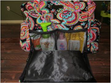 vera bradley stroll around baby bag review baby first mommy second. Black Bedroom Furniture Sets. Home Design Ideas